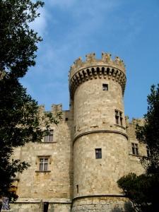 O reconstruido Palácio do Grande Mestre em Rodes