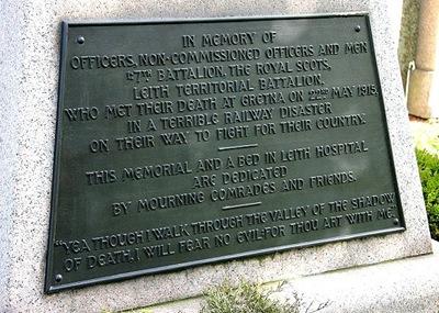 Quintinshill_Memorial